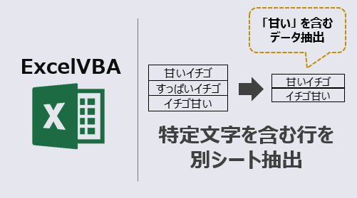 ExcelVBA_特定文字を含む行を別シート抽出-アイキャッチ
